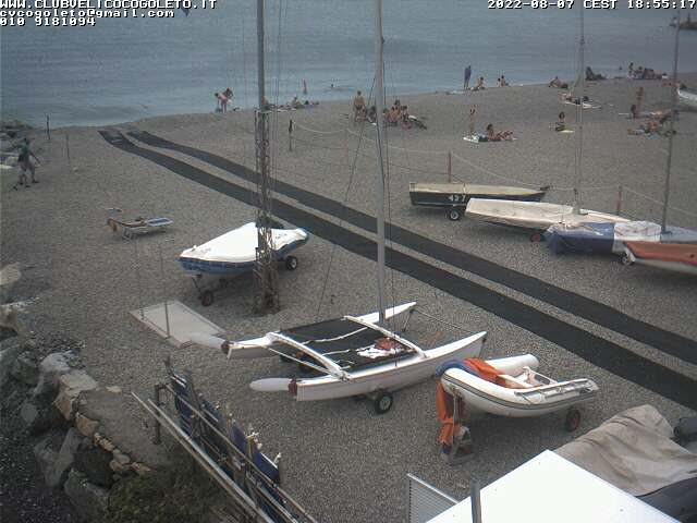 Webcam Cogoleto Nautica (GE)